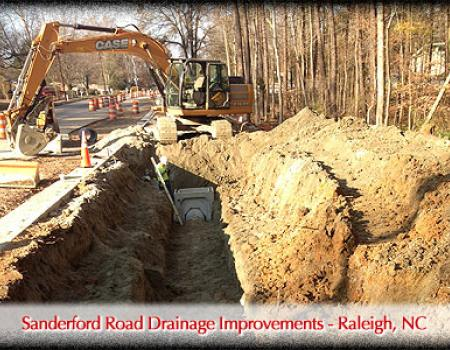Sanderford Road Drainage Improvements - Raleigh, NC